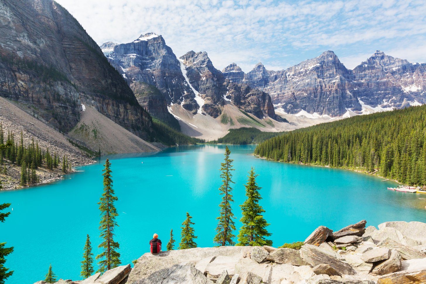 Lake Moraine.... adembenemend mooi!