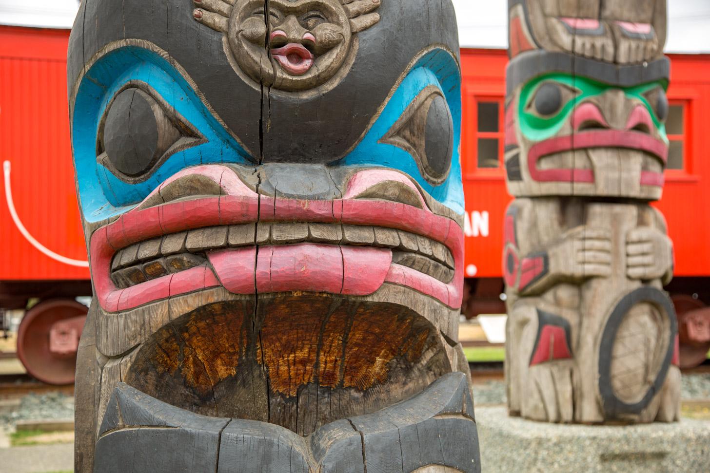 Voordat de blanken kwamen, woonden de Indianen in Canada