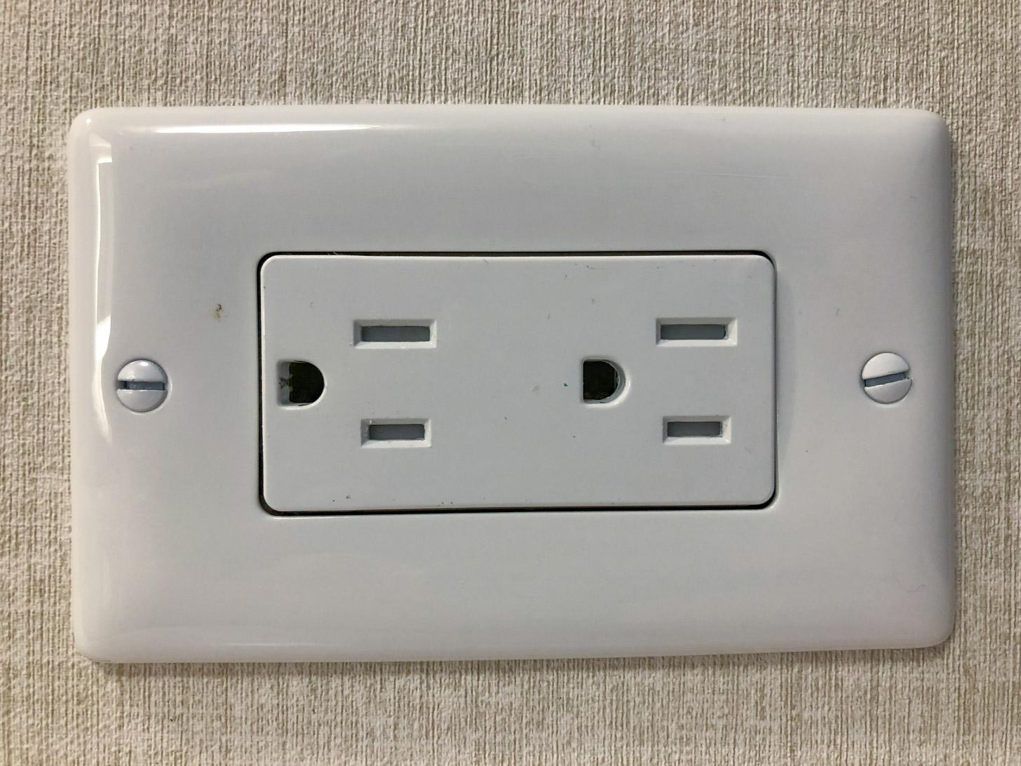 Een Canadees stopcontact