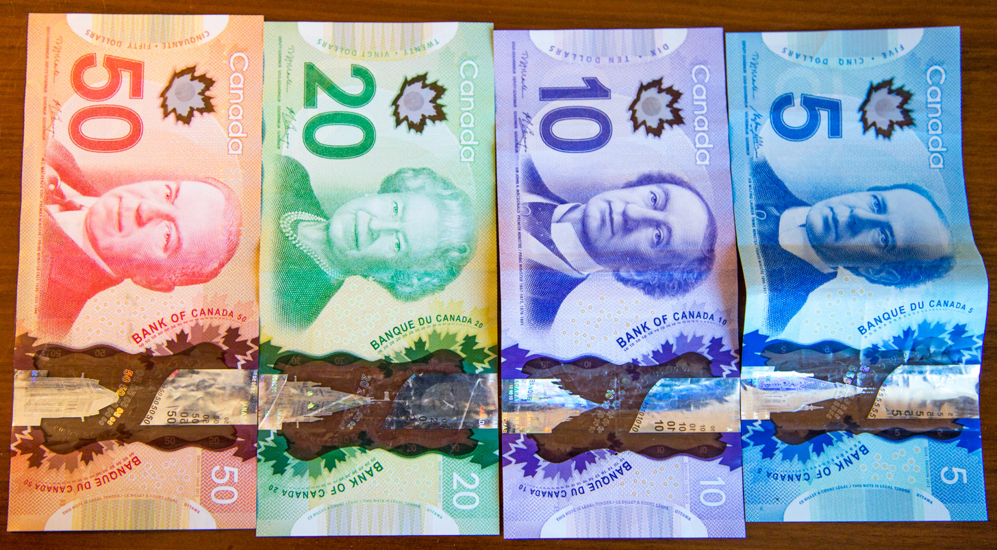 Canadese dollars