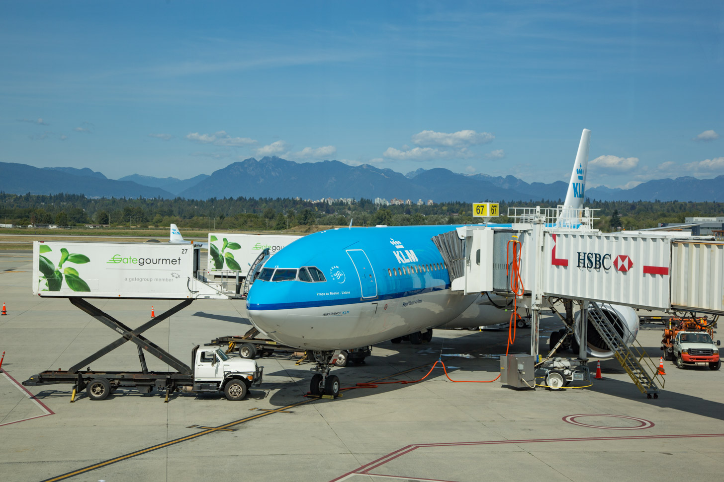 Vlieg bijvoorbeeld met KLM naar Canada